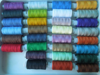 Швейные нитки 30x170 yards / mixed color polyester sewing thread spool F987