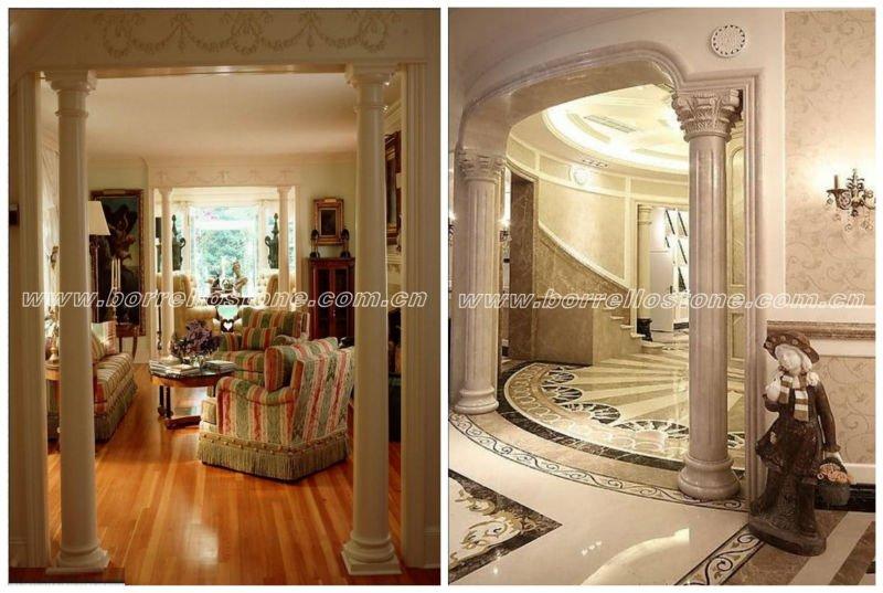 Interior roman pillar for house decoration buy roman for Column decorations home