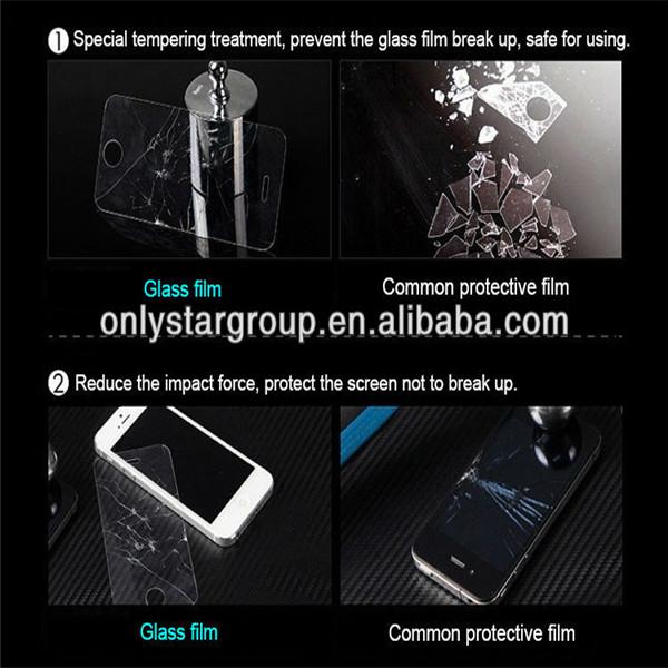 de vidro temperado clear filme protetor de tela protetor para samsung galaxy tab2 p5100 n8000