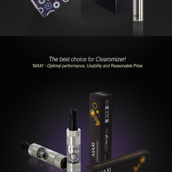 2014 Up-to date ce4, ce5 Electronic Cigarette holesale - Changeable and washable Clearomizer e cigarette hookah MAXI