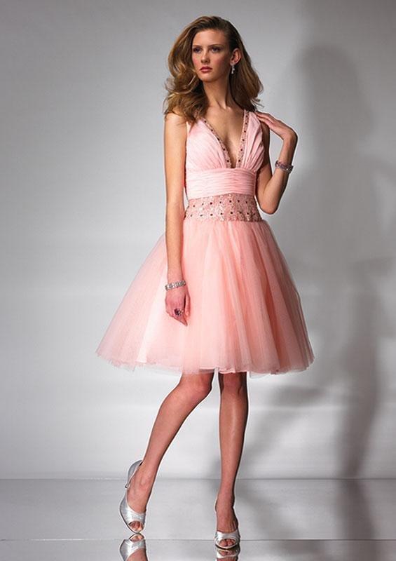 robe légère rose de mariage 2013