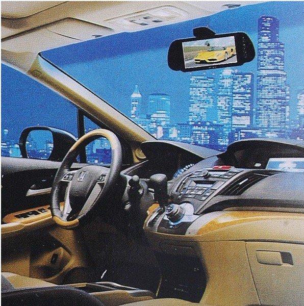 "Система помощи при парковке Car Monitor 7"" Color TFT LCD Car Rearview Monitor SD USB MP5 FM Transmitter Car video"