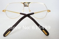 Hot selling!! FREE shipping(MOQ/1Piece) Fashion women frames Full rim eyeglasses CT1130 Gold(Size:57-16-135) Wholesale