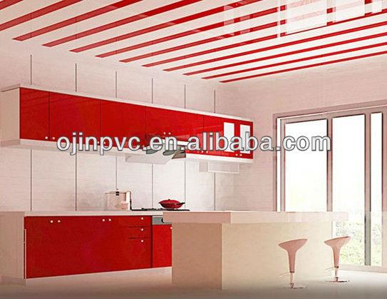 потолок на кухне из пластиковых панелей фото цена