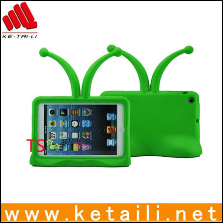 Cute kid TV design EVA foam tablet case for mini ipad, designed for kids