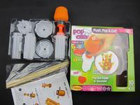 Измельчители и Слайсеры Pop Chef Fruit and Vagetable Shape DIY Fruit Model Maker Push PoP & Eat