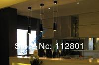 elegent led pendant light 220v 12w living room light bar light warm white and white
