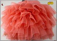 Юбка для девочек baby girls gauze skirt sweet bows mini skirt kids tutu pettiskirt ball gown children clothing