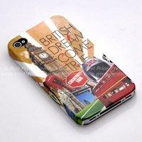 Чехол для для мобильных телефонов Vintage Plastic Faceplate Case for iPhone 4 4G 4S