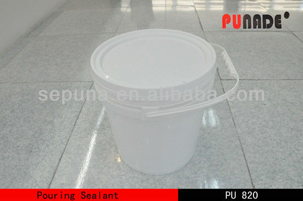 Liquid PU pouring sealant for runway seal/carbon aero road frame pouring sealant