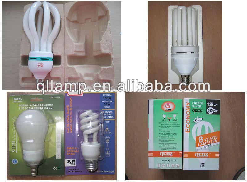 T2 HALF SPIRAL 20W E27 6400K 3.5T 8MM ENERGY SAVING LIGHT BULBS