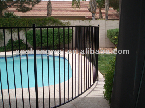 High quality flat top pool fence(supplier)
