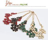 Колье-ошейник China Fashion Jewelry Suppliers, Exaggeration Geometric Fashion Imitation Diamond Necklaces 93187