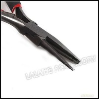 3pcs/lot Iron Mini Long Black Needle Pin Nose Pliers Jewelry Beading Tool Making Tool 123mm 180012