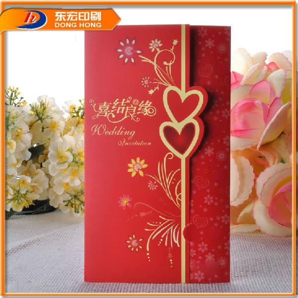 Mais recentes projetos de casamento cartão, decoração artesanal cartão