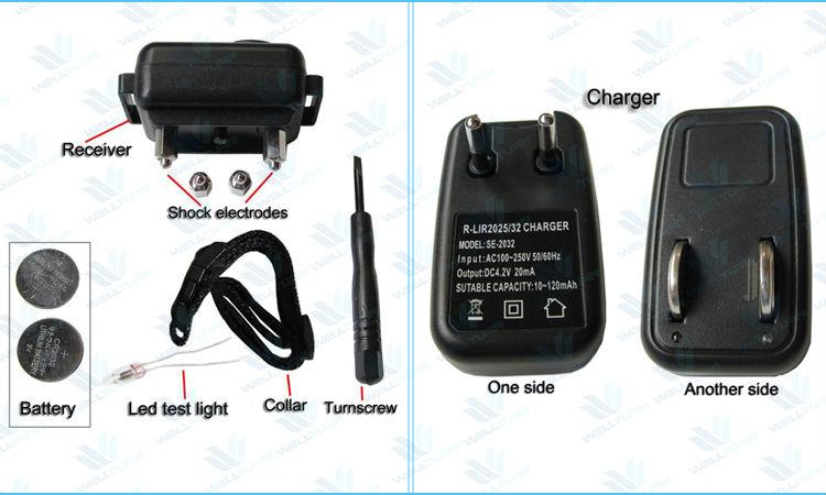 adjustable sensitivity bark stop dog collar Rechargeable Dog shock collar
