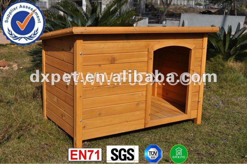 Outdoor Wooden Dog Kennel DXDH002(SGS, TUV, BV, EN71&FSC)