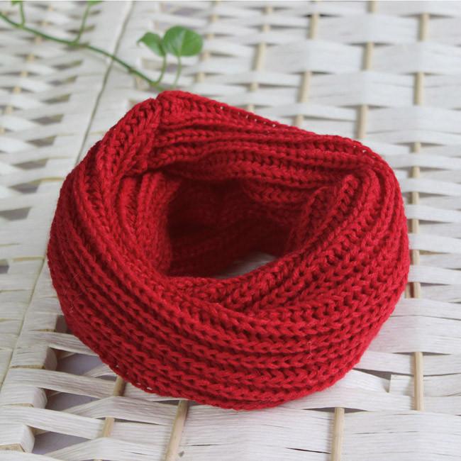 Как связать шарф круглый шарф