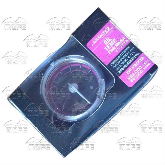 60MM Pink Blue LED Backlight Sensor + Stepping Motor Defi ADVANCE C2 Oil Pressure Press Gauge Meter oil temp. packing