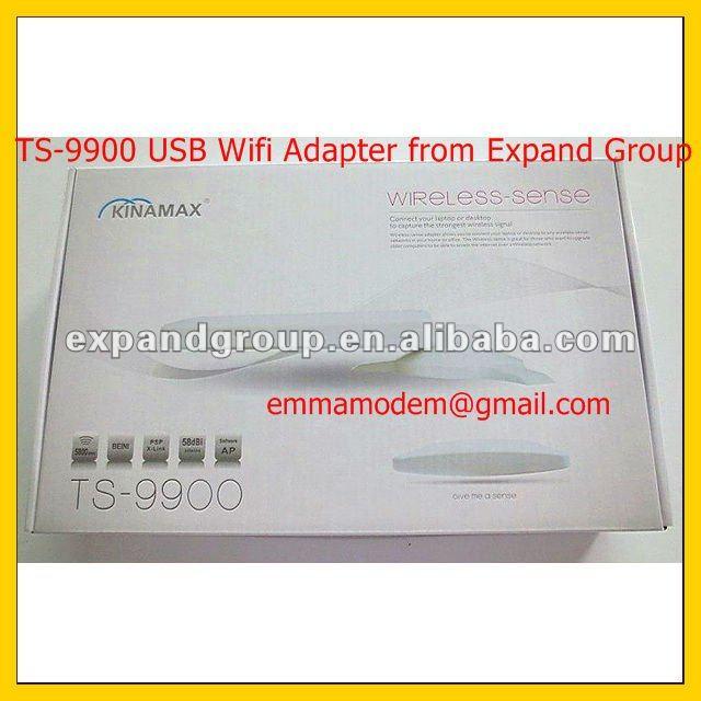 ADAPTADOR USB WIFI Kinamax TS-9900 5KM