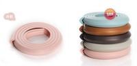 Угловые накладки на мебель для защиты детей 2pcs lot Top Quality PVC Baby Edge & Corner Guards Safety 2M*2.3cm*0.8cm Strip Baby Guards