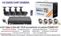 Система видеонаблюдения China brand 4 DVR 24LED CMOS CCTV DVR CCTV 4CH DVR SYSTEM