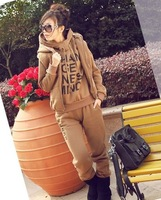 Женские толстовки и Кофты All Match Fashion Leisure Style Sports Casual Cotton Tracksuit