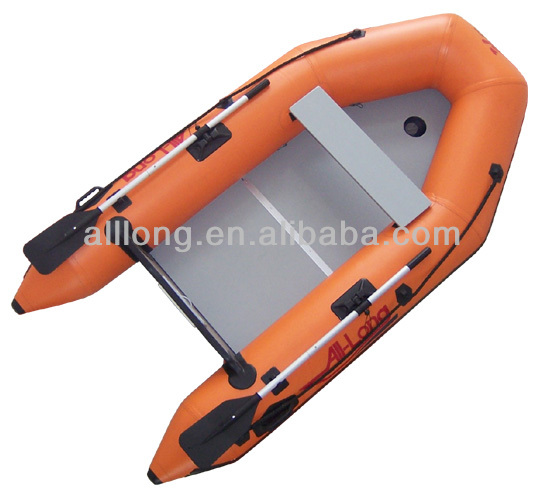 (CE) 2014 new design high quality 3.8 meters long inflatable boat with Aluminium floor