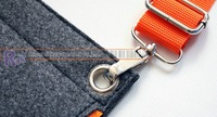 Маленькая сумочка OutInside, Crossover, Shoulders Bag, Message bag, for ipad, gray+orange, MOQ=1