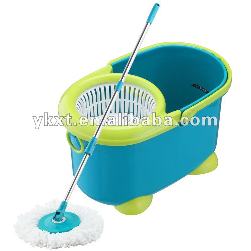 Hot sell 4-drive 360 degree clean spin mop wash and Dry