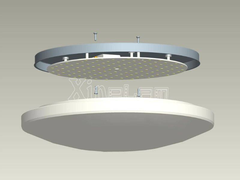 light fixture inside led panel replace of circular fluorescent. Black Bedroom Furniture Sets. Home Design Ideas