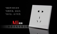 Электрические контакты A6Switches and sockets Switch panel Twenty-three pole socket Warranty13Years