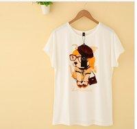 Женская футболка New Brand o t  lily-079