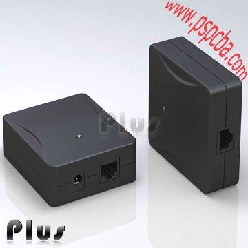 Power Over Ethernet adaptador POE, POE injector para voip telefone (CE ROHS FCC aprovados)