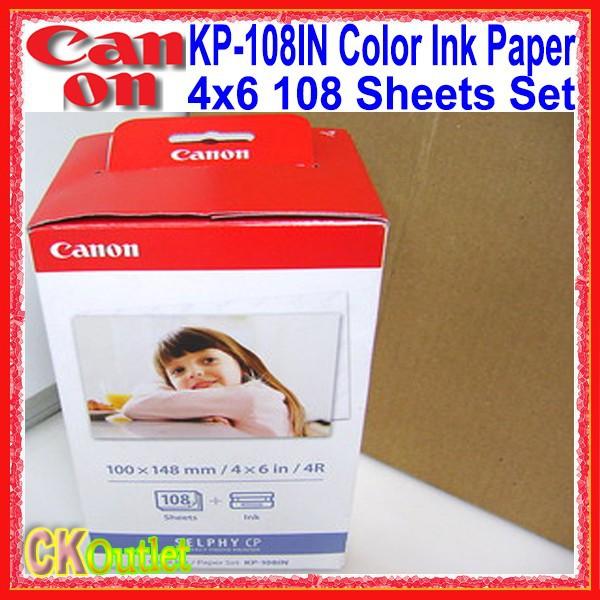 Фотобумага KP-108IN 108 4 x 6 108 Canon