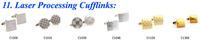 Запонки и зажимы для галстука TZG05202 Enamel Cufflink 1 Pair