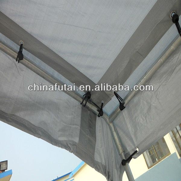 Silver PE tarp car cover ,PE tarpaulin folding car shelter
