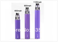 eGo/t 650mAh 900mAh 1100mAh eGo 10 50pcs/lot DHL eGo-T battery