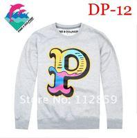 Мужская футболка 2012 new arrived Men long sleeve Shirts fashion long Pink DOLPHIN t-shirts leisure TEE shirt