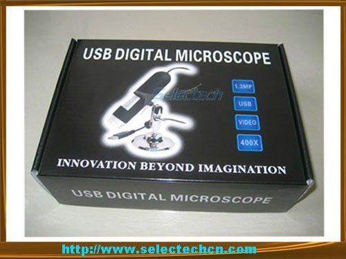 Digital USB Microscope 400X 1.3 Mega Pixel