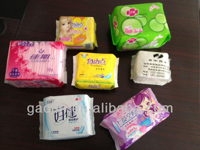 The Full Servo Prefabricated Bags Paper Sanitary Napkins Packaging Machine Paper Paking Machine