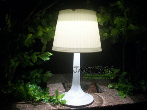 Online cheap wholesale solar table lamp solar reading light solar powered lasting lighting 6 - Kleine zonne lamp ...