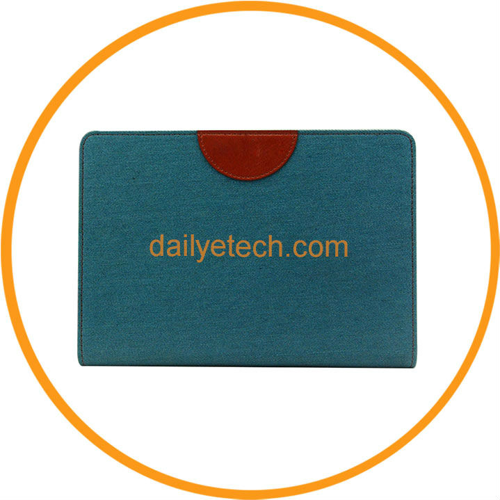 Fashion Jeans Style Smart Flip Wallet Leather Hot Selling Case for iPad Mini from Dailyetech