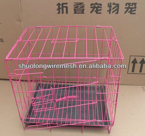 Have Stock factory Folding metal cages for dog kennels,outdoor metal dog kennel(BV Certificate Company and Factory)