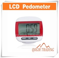 Large LCD Display Jogging Step Pedometer Walking Calorie Distance Counter 6179