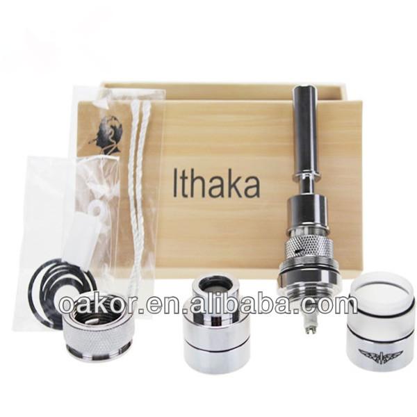 Ithaka Rebuildable Atomizer E cig Ithaka Atomizer Clone Mod vs K1000 Atomizer Protank3 miniPrptank2 Gs h2