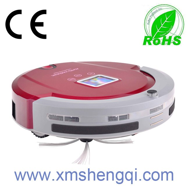 (To Russian Buyer Only,Free Shipping) 4 In 1 Multifunctional Robot Vacuum Cleaner (Sweep,Vacuum, Mop, Sterilize)LCD,Touch Button