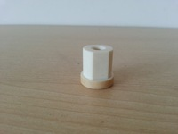 1pc Ultimaker PEEK Isolator M6 OD 16mm  Length 17mm Free Shipping