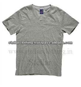 100% cotton Plain Children\'s T-shirt - Grey Melange.jpg