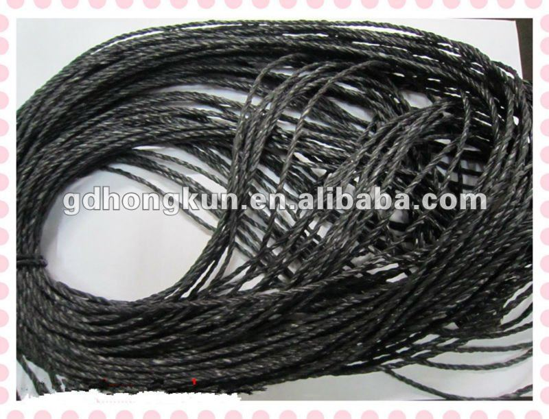 high strength pe rope/pe twine/pe danline rope
